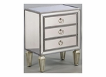 Mirrored Chairside Chest - Pulaski