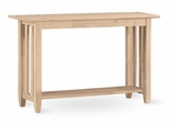 Mission Console / Sofa Table - BJ6S