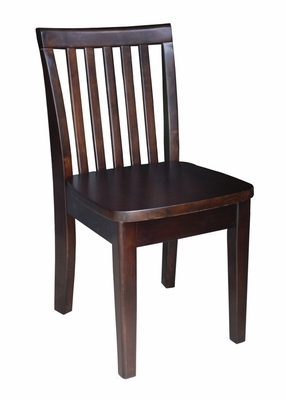 Mission Juvenile Chair (Set of 2) in Java - CC15-263P