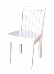 Mission Juvenile Chair (Set of 2) in Linen White - CC08-263P