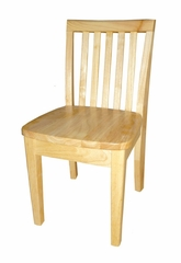 Mission Juvenile Chair (Set of 2) in Natural - CC01-263P