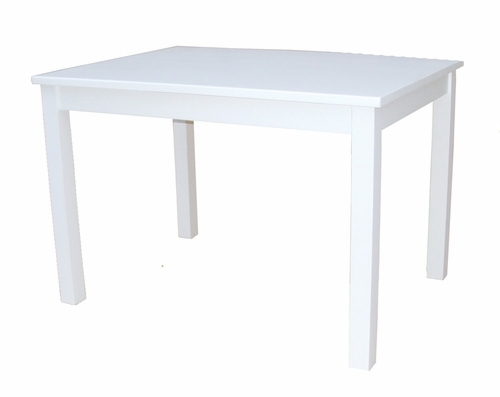 Mission Juvenile Table in Linen White - JT08-2532