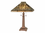 Mission Style Table Lamp - Dale Tiffany