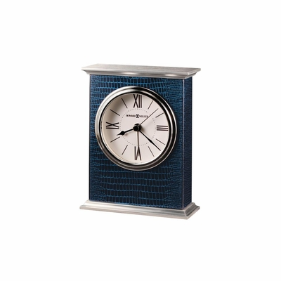 Mission Table Clock in Cobalt Blue - Howard Miller