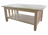 Mission Tall Coffee Table - BJ6TC