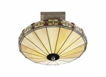 Mission Umbrella Hanging Fixture - Dale Tiffany