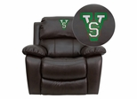 Mississippi Valley State University Devil Recliner - MEN-DA3439-91-BRN-41053-EMB-GG