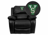 Mississippi Valley State University Devils Recliner - MEN-DA3439-91-BK-41053-EMB-GG