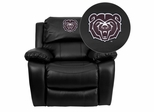 Missouri State University Bears Rocker Recliner  - MEN-DA3439-91-BK-40009-EMB-GG