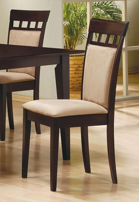 Mix & Match Side Chair with Fabric Seat - Set of 2 - 100773