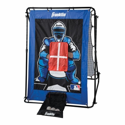 MLB 2-in-1 Trainer Pitch Target & Return Combo Set - Franklin Sports