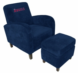 MLB Angels Den Chair with Ottoman - Imperial International - 126501