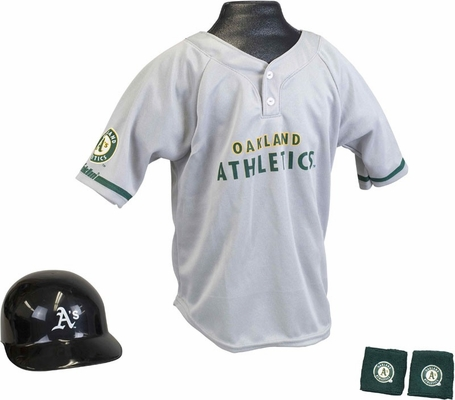 MLB ATHLETICS Kids Team Uniform Set - Franklin Sports