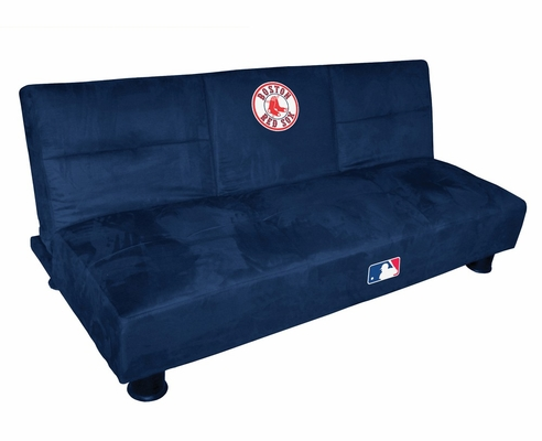 MLB Boston Red Sox Convertible Sofa with Tray - Imperial International - 852523