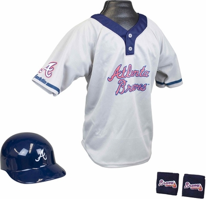 MLB BRAVES Kids Team Uniform Set - Franklin Sports