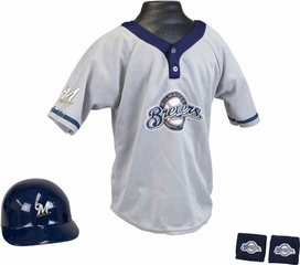 MLB BREWERS Kids Team Uniform Set - Franklin Sports