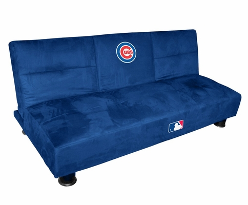 MLB Cubs Convertible Sofa with Tray - Imperial International - 852508