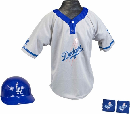 MLB DODGERS Kids Team Uniform Set - Franklin Sports