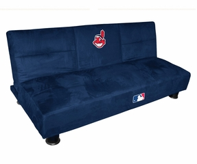 MLB Indians Convertible Sofa with Tray - Imperial International - 852513