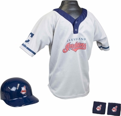MLB INDIANS Kids Team Uniform Set - Franklin Sports