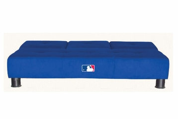 MLB Los Angeles Dodgers Convertible Sofa with Tray - Imperial International - 852511