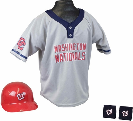 MLB NATIONALS Kids Team Uniform Set - Franklin Sports
