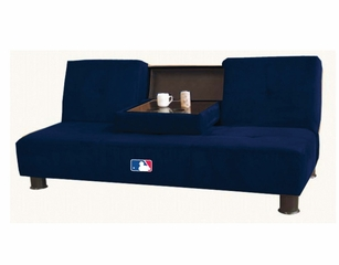 MLB New York Yankees Convertible Sofa with Tray - Imperial International - 852530