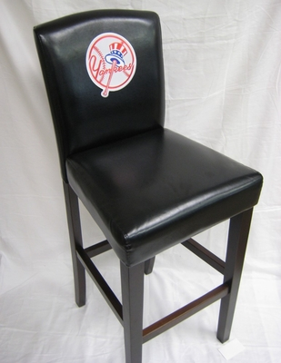 MLB New York Yankees Counter Chair (Set of 2) - Imperial International - 101530
