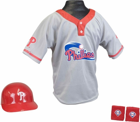 MLB PHILLIES Kids Team Uniform Set - Franklin Sports