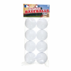 MLB Plastic Baseballs 8 Pack - Franklin Sports