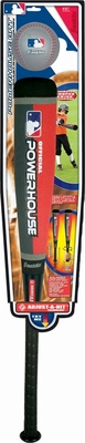 MLB Powerhouse Baseball Bat and Ball with ADJUST-A-HIT Technology - Franklin Sports