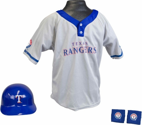 MLB RANGERS Kids Team Uniform Set - Franklin Sports