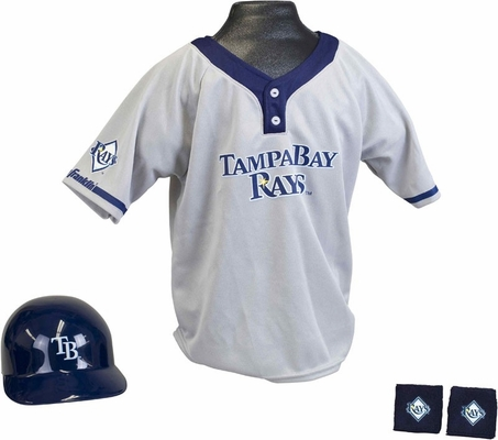 MLB RAYS Kids Team Uniform Set - Franklin Sports