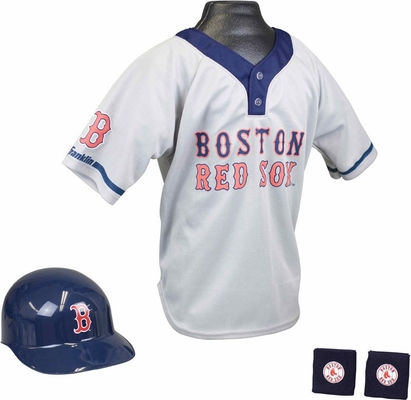 MLB RED SOX Kids Team Uniform Set - Franklin Sports