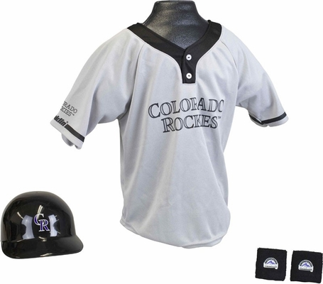 MLB ROCKIES Kids Team Uniform Set - Franklin Sports