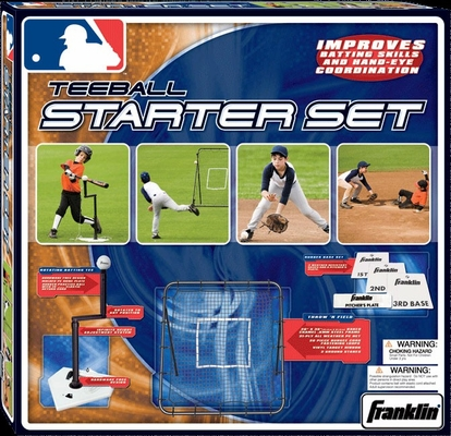 MLB Teeball Starter Set - Franklin Sports