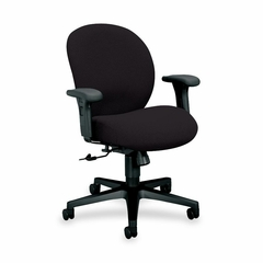 Mngr. Mid-Back Chair - Black Frm/Iron - HON7622BW19T