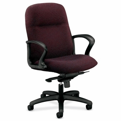 Mngr. Mid-back Chair - Claret - HON2078BW69T