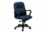 Mngr. Mid-back Chair - Navy - HON2078BW90T