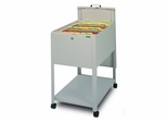 Mobile File Cabinet in Gray Value 1 - Mayline Office Furniture - 9P610GV1