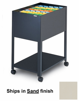 Mobile File Cabinet in Sand - Mayline Office Furniture - 9P600SND