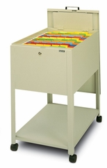 Mobile File Cabinet in Sand - Mayline Office Furniture - 9P610SND