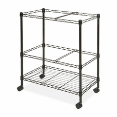 Mobile Filing Cart - Black - LLR45650