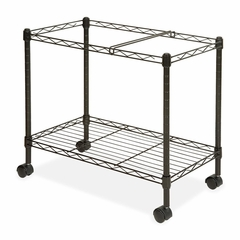 Mobile Filing Cart - Black - LLR45651