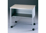 Mobile Machine Stand in Gray/Dove Gray - Mayline Office Furniture - 2140CAGRYGRY