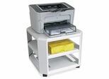 Mobile Printer Stand - Gray - MAT24060