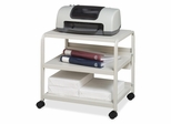 Mobile Printer Stand - Platinum - ICE10559