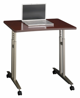 Mobile Table - Series C Mahogany Collection - Bush Office Furniture - WC36782