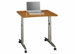 Mobile Table - Series C Natural Cherry Collection - Bush Office Furniture - WC72482