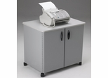 Mobile Utility Cabinet in Gray/Dove Gray - Mayline Office Furniture - 2160MUGRYGRY